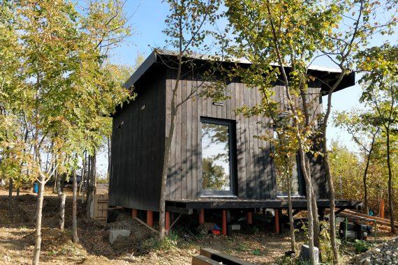Hidroizolație la acoperis de casa din lemn Targoviste