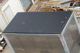 Hidroizolație la acoperisul unui container