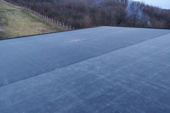 Hidroizolație acoperis casa noua de lemn Targoviste
