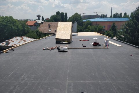 Hidroizolatie terasa casa, B-dul Iuliu Maniu, Bucuresti