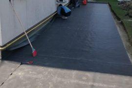 Hidroizolatie placa de beton peste parcarea subterana